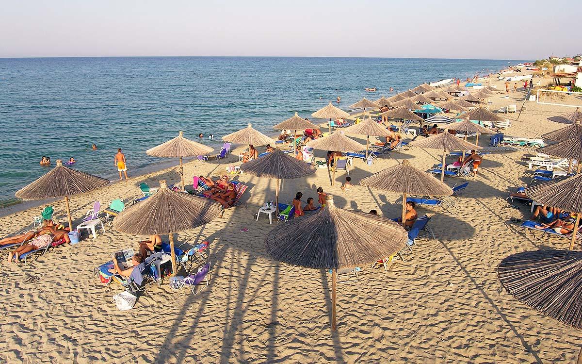 Παραλία Μεσάγγαλα Δ. Τεμπών