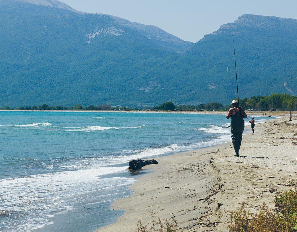 Παραλία Κουλούρα Δ. Τεμπών